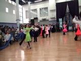 Бальные танцы. Лиза Дорошенко и Ярослав часть 1