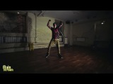 DanceHall steps with Andrey Boyko: Step #9 Free Flow