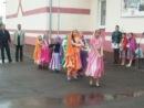 Выступление ансамбля Радуга с танцем Дес Рангила на Спортивном празднике в Чуваш-Кубово - 14.09.14,