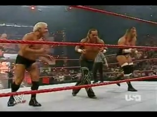 DX Ric Flair vs. The Spirit Squad WWE Raw Tag Team Match 27.11.2006.