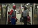 Человек-Паук в метро с девушкой жесткое порно 18 (brazzerscom)