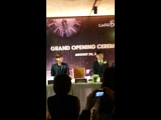 [140824] Lee Jong Suk @Grand Opening Ceremory  Caffe Bene Vietnam