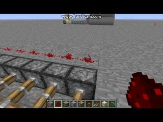 Minecraft 1 6 2 Механизмы ловушки и баги Часть 14 Ловушка в шахте