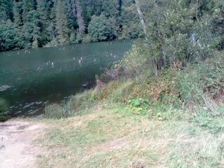 Красное озеро... Озеро убийца