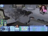 СУРОВАЯ Зима -- The Sims 3 -- Детка Геймер 33 - Саша Спилберг