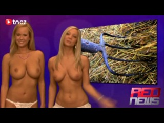 Naked red news [2009.03.08] vendula bednarova & zuzana drabinova.mp4