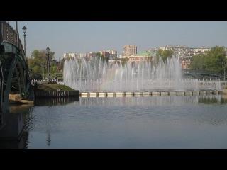 Поющий фонтан в