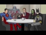 Бетмен vs  Я есть грут