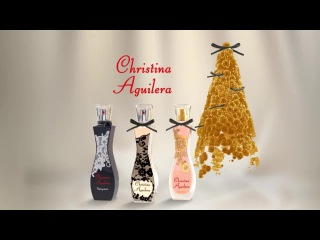 Holiday advertising Christina's perfume