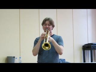 Играет гениальный трубач Сергей Накаряков