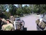 Приключение ватников на границе - Степановка 16.07.14