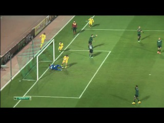 Футбол.Лига Европы. 5-й тур.Краснодар - Лилль 1:1 79' Нолан Ру