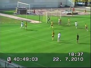 92 EL 2010 2011 FK Teteks FK Ventspils 3 1 22 07 2010 HL