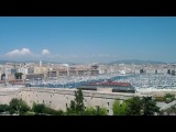 Панорама Марселя с форта св.Николая