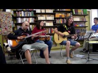 Группа Блики - Выступление в магазине