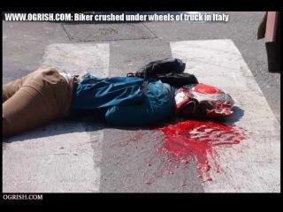 18+ мото аварии слабонервным не смотреть