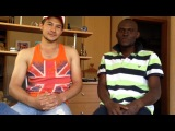 A Nigerian boy talked about Uzbekistan in the Uzbek language