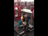 Trish Warren тренировка ног