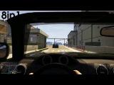 Геймплей-трейлер новой игры ГТА 5  с видом от первого лица для PS4 и Xbox One / Grand Theft Auto 5 First-Person Trailer