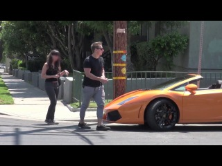 Gold digger surprise prank