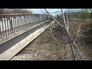 Мост между Енакиево и Углегорском