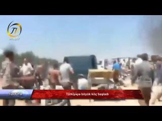 Türkiyəyə böyük köç başladı