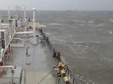 шторм в Азовском море ,Керченский пролив 24.09.14
