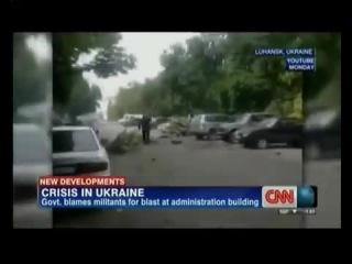 Луганск обстрел ОГА 13