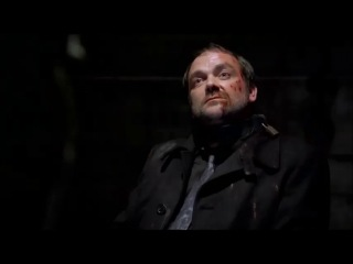 Сверхъестественное Supernatural 9 сезон 2 серия [отрывок] ахаха. Кроули жжет.