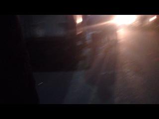 Пожар в Тюмени 17.09.14