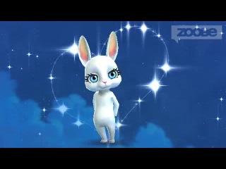 Зайка Zoobe Спокойной ночи