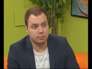 Елена Ясевич и Сергей Тюпаев на телеканале