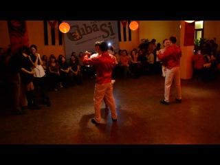 Bachatango Гуцулька Ксения -Salsa Club Kiev