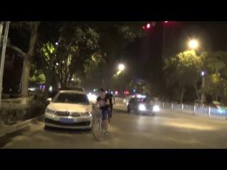 First night ride in lanzhou