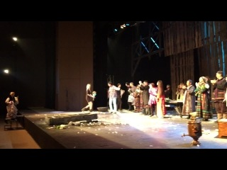 «ЧЕРНОЛИКИЕ» на сцене московского театра «Сатирикон»