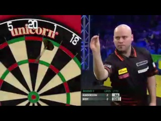 Gary Anderson vs Christian Kist (Players Championship Finals 2014 / Round 1)