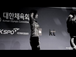 [PERF] 140911 T-ara (EunJung focus) - Sugar Free @ Incheon Asian Games 2014