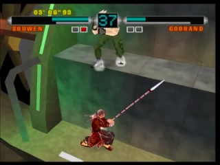 Ehrgeiz God Bless The Ring Gameplay PS1