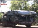 В Алматы не поделили перекресток водители двух иномарок