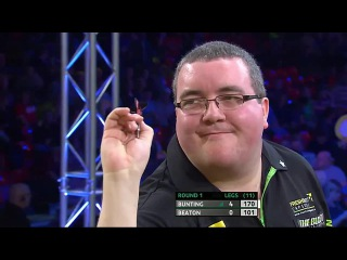 Stephen Bunting vs Steve Beaton (Players Championship Finals 2014 / Round 1)