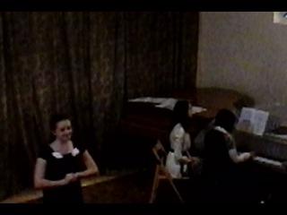 Звіт вокального відділу ДШМ №1 ім. С.Мартона - Деркач Юліанна, учениця 4 класу (2014 р.)