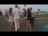 Salsa Club Cherkassy  руэда на пирсе 3.08.2014