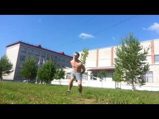 Первый опыт упражнения с палкой (импровизация).