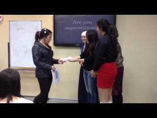 Superstitions EC - Group 1 skit