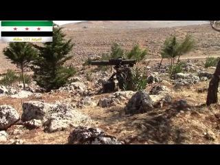 Сирия.боевики подбили танк в корму из BGM-71 «Тоу».