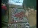 Мариям 3 жас жетымдер киносын көруде