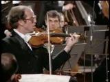 Брамс - Концерт для скрипки с оркестром. Солист - Гидон Кремер. Дирижер -  Леонард Бернстайн (1982)