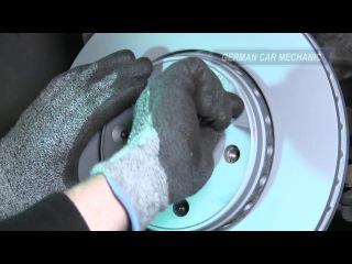 Замена передних тормозных колодок и дисков в Renault Megane 3 (Рено Меган 3)