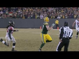 American football, NFL  2014, week 14, Packers vs Falcons (part 2)
