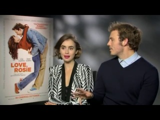 Lily collins reveals 'love, rosie' baby hated sam claflin